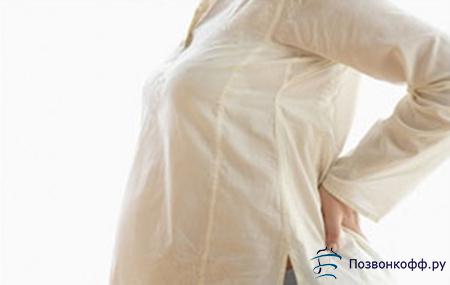 после родов болит спина