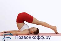 упражнения против сколиоза
