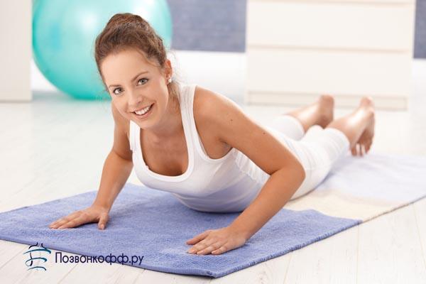 шейно грудной остеохондроз гимнастика